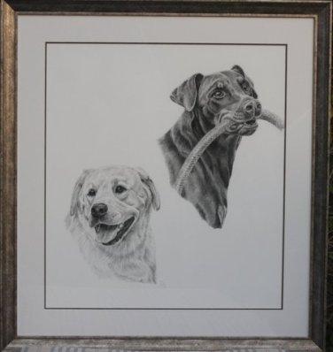 Kas and Sandy framed
